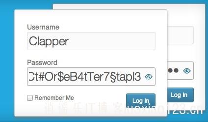 WordPress后台登录界面显示/隐藏密码插件:hideShowPassword 插件