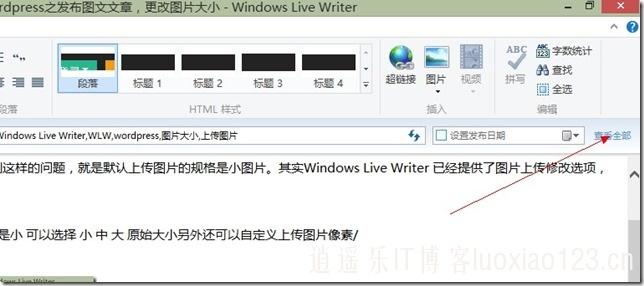 Windows Live Writer与wordpress之自定义文章发布作者、查看密码、摘要、评论等