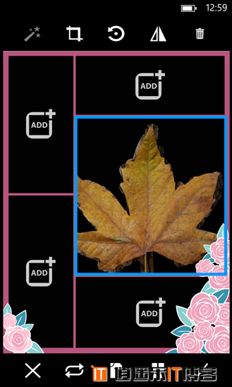 WP8图片处理应用:PicsArt让小白立马变大师