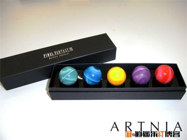 情人节的礼物:《最终幻想7》定制版巧克力