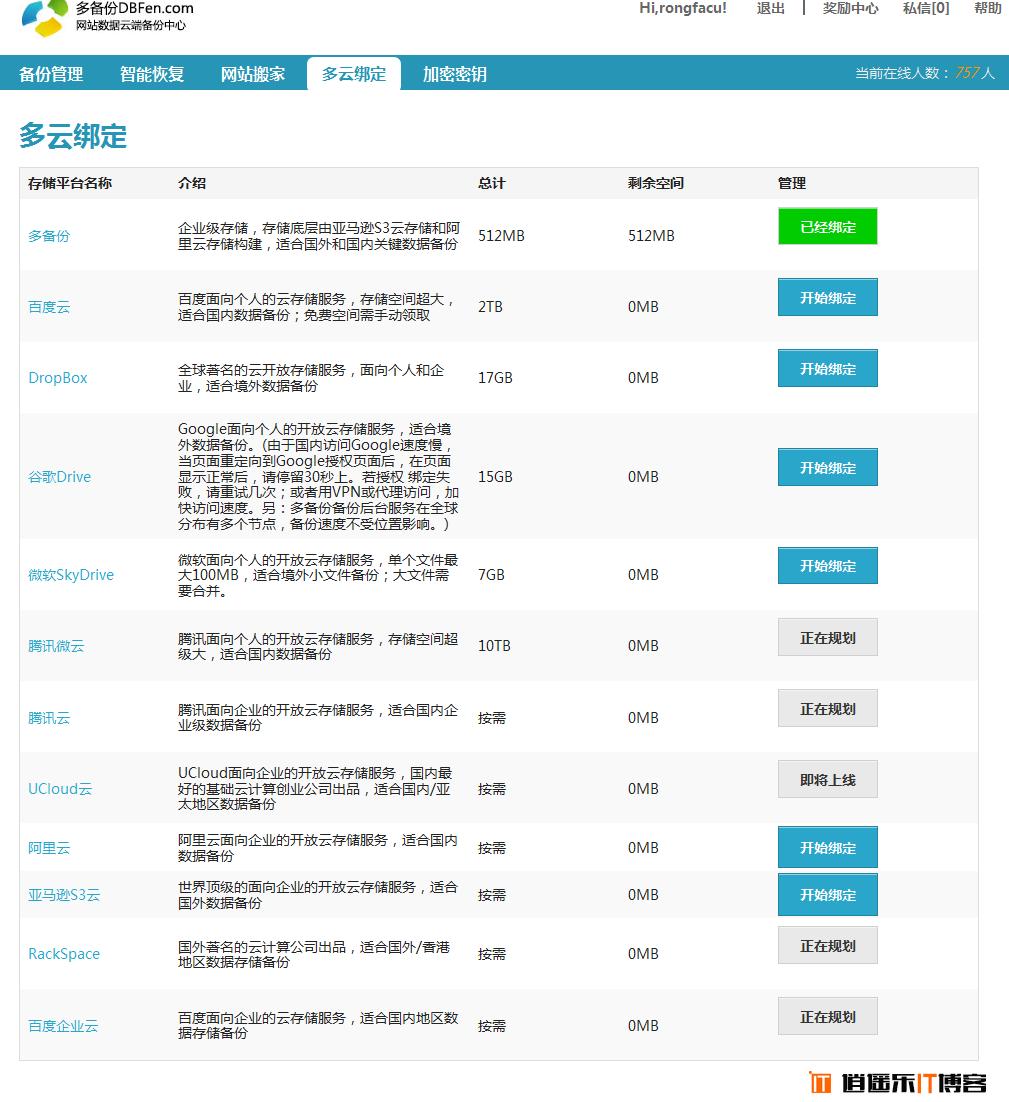 多备份,网站在线备份恢复、搬家、保护加密神器