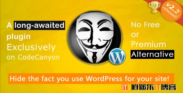 wordpress隐藏系统信息插件:Hide My WP 更新至V3.0