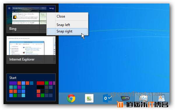 窗口甩到一边 新版Chrome OS引入了Windows 8中的Snap模式