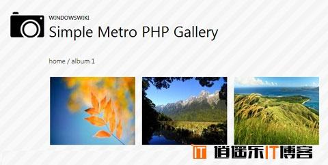 Win8 Metro UI风格Web素材样式资源合集