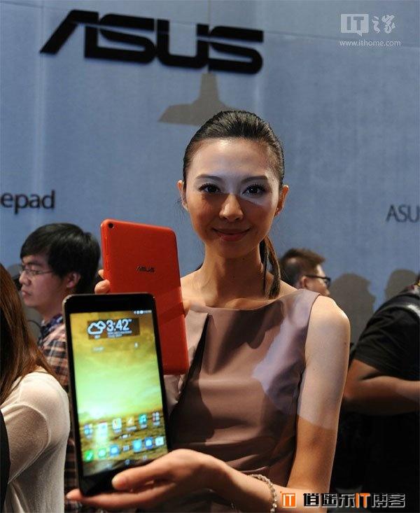 华硕发布8寸平板Fonepad 8:首配64位英特尔芯