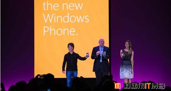 鲍尔默:WP8吹响微软进军智能手机市场的号角