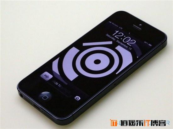 苹果黑色iPhone5海量真机图片欣赏