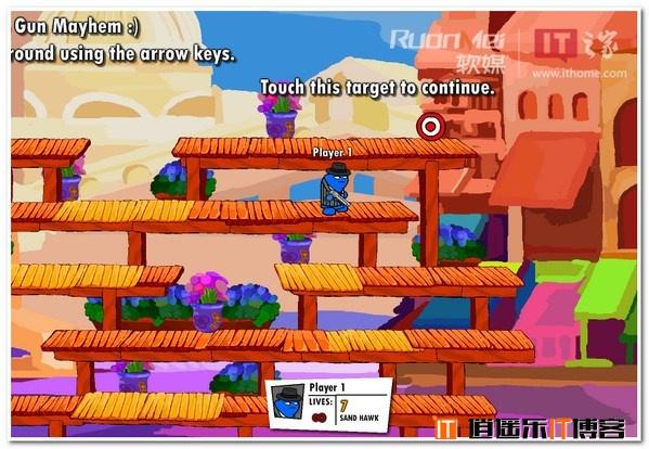 Flash游戏:混乱枪战2 - 画面超爆炫 音效很给力
