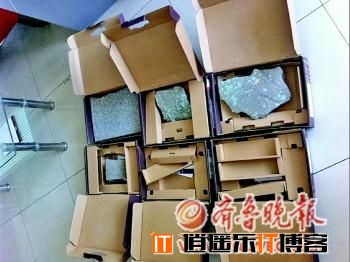 递10台电脑5台变石头 快递公司只赔千元(图)