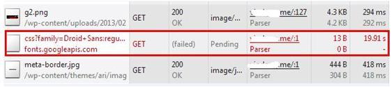 360网站卫士推出google在线字体fonts.googleapis.com字体加速方案