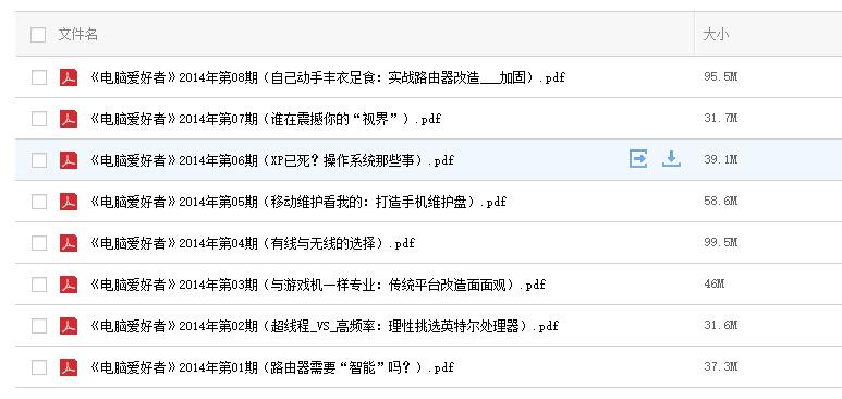 2014年《电脑爱好者》全年24期 PDF电子版免费下载(持续更新中)