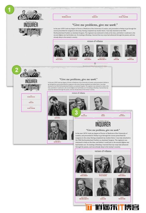 CSS3响应式布局自适应 Media Queries详细介绍