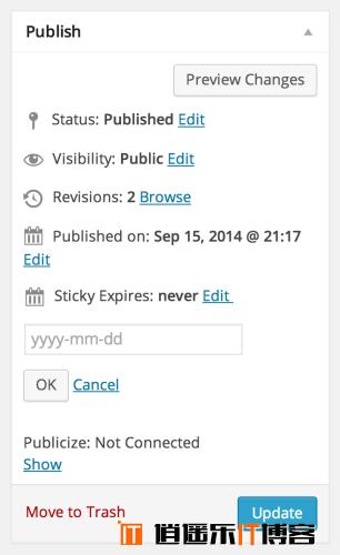 WordPress给置顶文章设置一个到期时间插件:Expire Sticky Posts