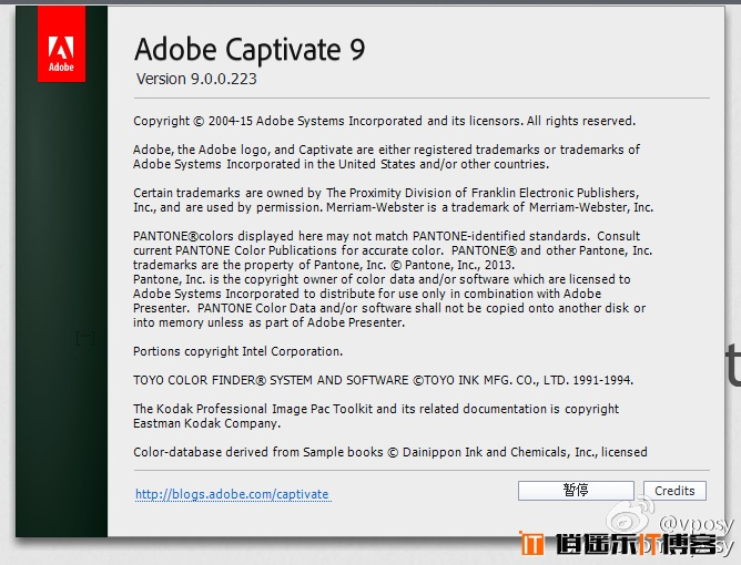 Adobe屏幕录制软件Adobe Captivate 9 特别版特别版 免费下载(持续更新)
