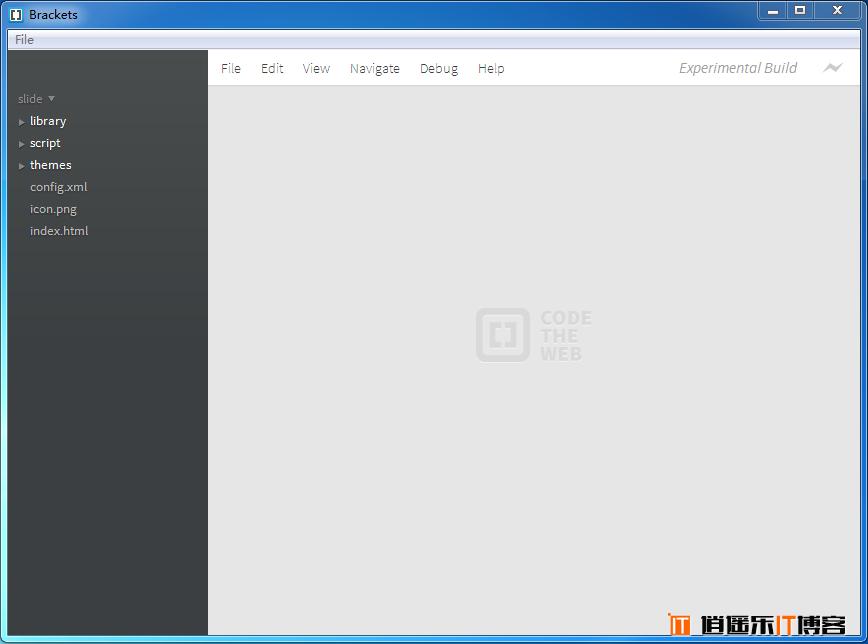 Adobe Brackets网页前端代码编辑器使用教程&免费下载