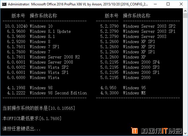 OFFICE 2016 3in1 绿色准全功能版 特别激活 免费下载