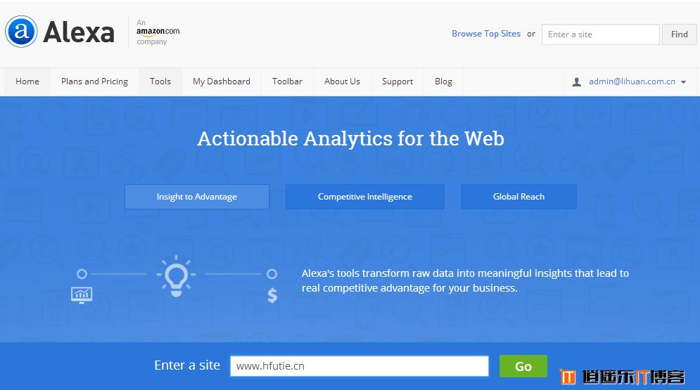 世界网站排名Alexa网站信息管理设置详细图文教程