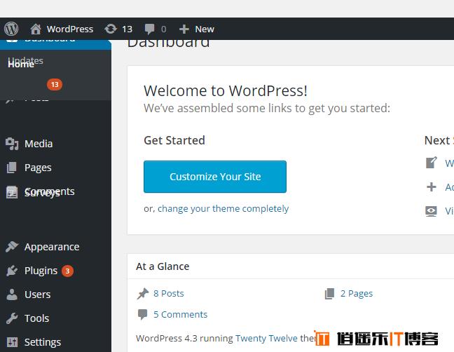 WordPress 后台菜单在Chrome下错位