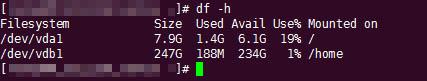 CentOS数据盘分区挂载和格式化