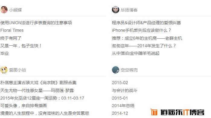 wordpress获取友情链接网站的最新文章插件:Wp-friend-posts