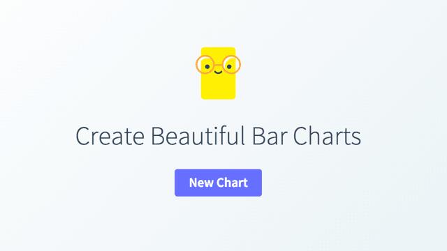让数字说话,使用 Chartico 线上制作美丽直条图表