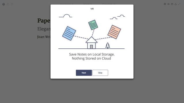 Paperr 让浏览器化身优雅文字编辑器,美好你的写作体验