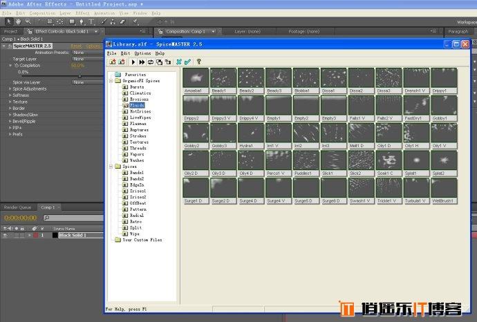 AE CC香料转场插件SpiceMaster 2.5 pro 64位简体中文汉化免费下载