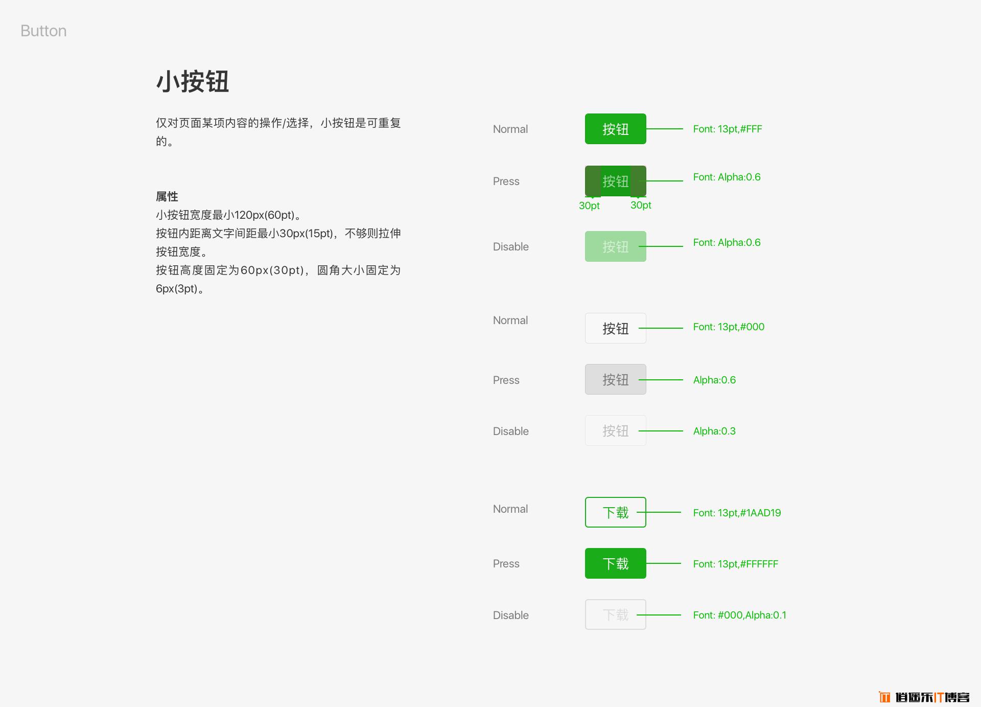 微信小程序官方UI设计规范