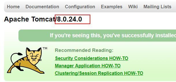 Apache Tomcat 隐藏错误页面的版本号的方法