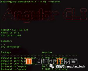 Angular10教程--1.0 angular环境搭建