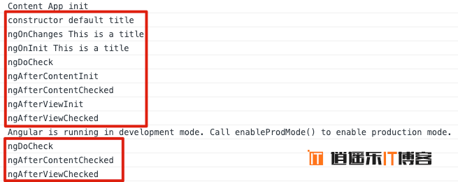 Angular10教程--2.10 生命周期 钩子函数