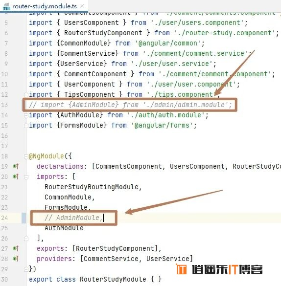 Angular10教程--5.4 异步路由 懒加载 预加载 路由事件