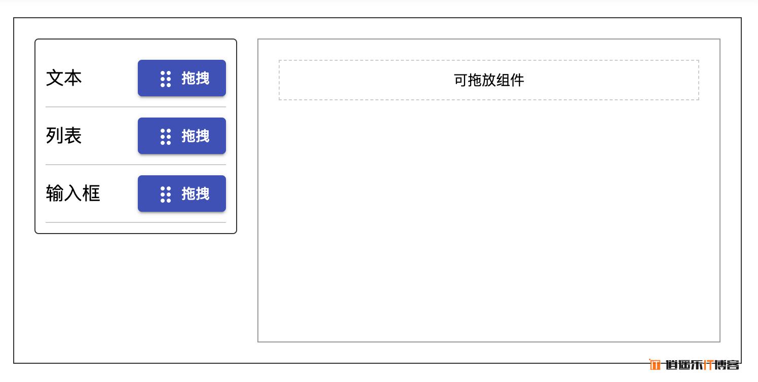 Angular 自定义实现drag drop拖拽组件功能