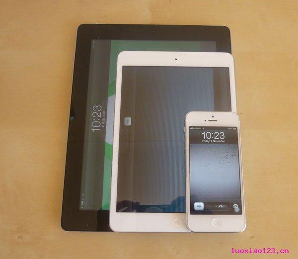 摩根士丹利:iPhone5和iPad mini销售好于预期