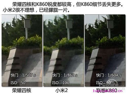 两千元级别 荣耀4核/小米2/联想K860横向对比评测