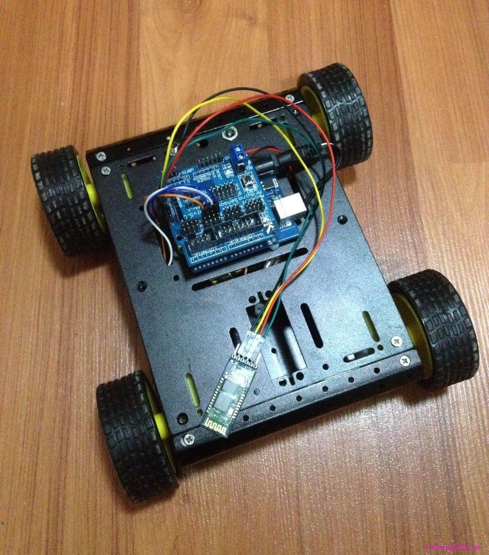 技术宅:仔Robot(Wi-Fi小车)!确实不错!!
