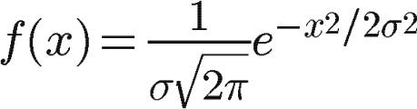高斯模糊的详细算法