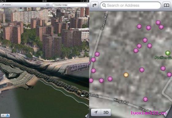 CNN盘点2012科技业十大败笔:苹果地图居首