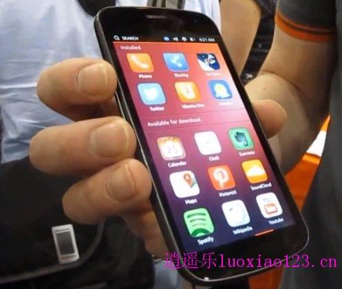 Ubuntu手机系统21日发布,Nexus4上可安装