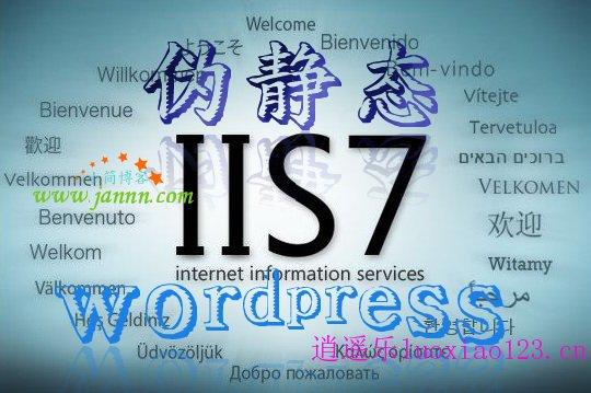 解决windows虚拟主机wordpress伪静态后中文标签分类404错误问题