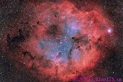 [动态图]芬兰天文学家制作GIF星云图