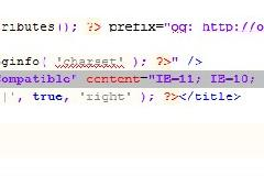 wordpress通过代码禁用IE8, IE9,IE10等IE浏览器兼容视图模式(Compatibility View)
