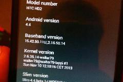 HTC HD2老当益壮,开刷Android 4.4