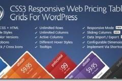 wordpress强大的价格表插件CSS3 Responsive Web Pricing Tables Grids For WordPress v9.0附汉化版