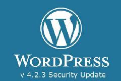 WordPress 4.2.3更新 修复高危XSS漏洞
