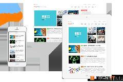 模板兔简约清爽的WordPress博客资讯响应式CMS中文主题:Mode含前端用户中心