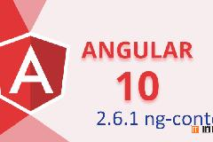 Angular10教程–2.6.1 ng-content标签